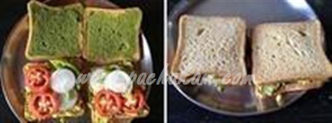 Step 8 Bread Sandwich Recipe