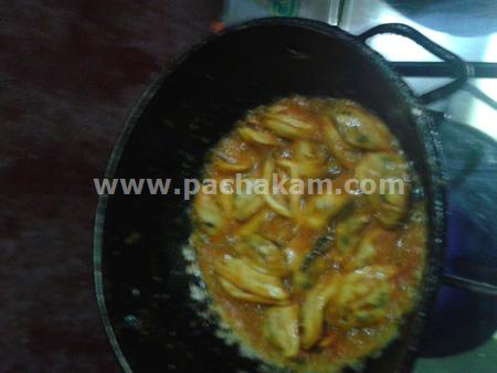 Step 3 Kadukka Fry Recipe