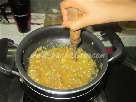 Step 7 Brinjal Bhurta (Step By Step Photos) Recipe