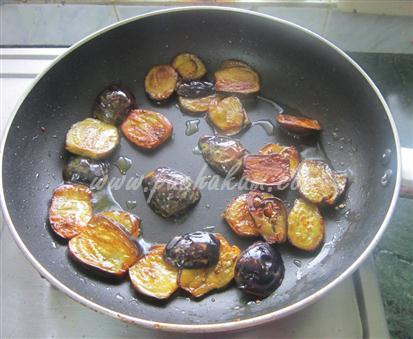 Step 4 Brinjal Pahie (Step By Step Photos) Recipe