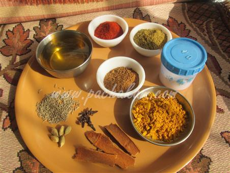 Step 4 Mattar Paneer Curry Recipe