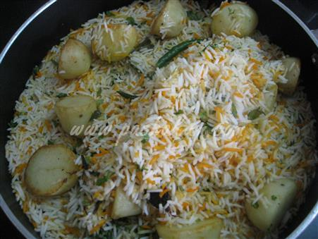 Step 17 Kachha Gosht Biryani (Step By Step Photos) Recipe
