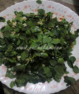 Step 3 Muringayila Thoran  Recipe