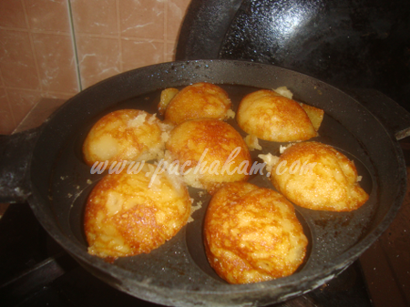 Step 6 Sweet Paniyaram (Step By Step Photos) Recipe