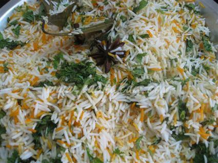 Step 14 Kachha Gosht Biriyani Recipe