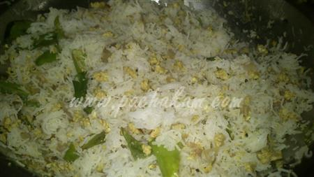 Step 4 Idiyappam Egg Upma (Step By Step Photos) Recipe