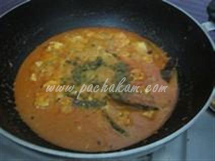 Step 7 Paneer Butter Cream Masala  Recipe