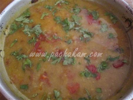 Step 9 Masoor Dal Curry  Recipe