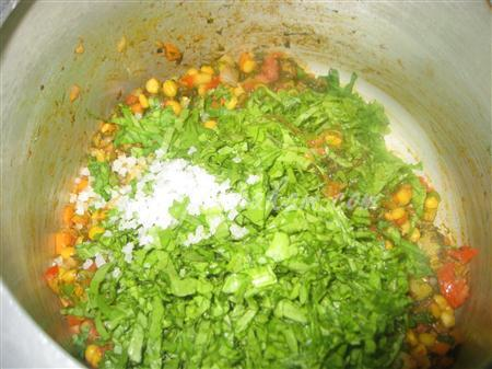 Step 3 Sindhi Sai Bhaji (Step By Step Photos) Recipe