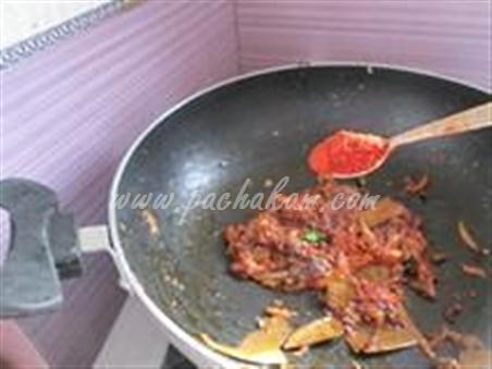 Step 8 Capsicum Masala Curry  Recipe