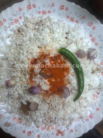 Step 1 Chammanthi Ada Recipe