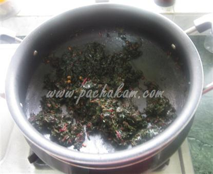 Step 3 Cheera (Spinach) Upperi (Step By Step Photos) Recipe