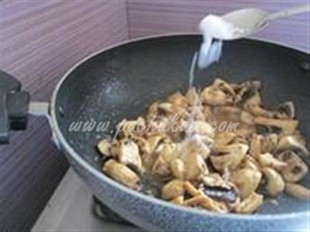 Step 3 Chinese Mushroom Recipe