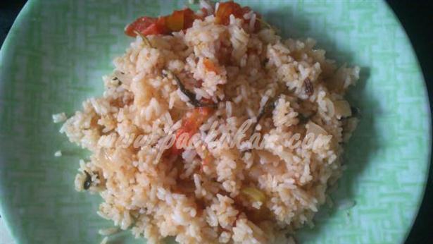Step 6 Tomato Rice (Step By Step Photos) Recipe