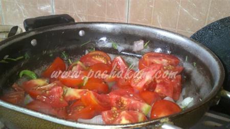 Step 3 Tomato Rice (Step By Step Photos) Recipe