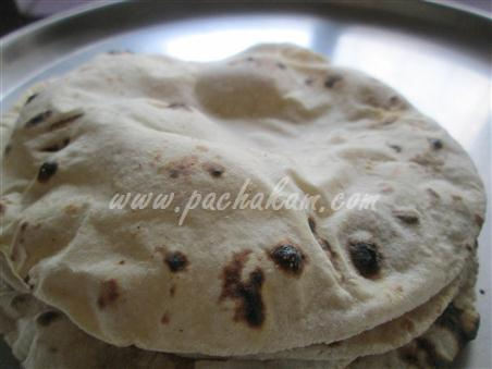 Step 10 Phulka Chappathi Recipe