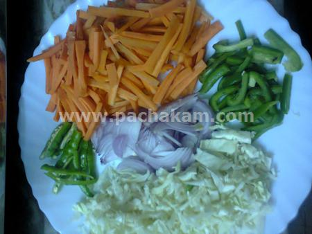 Step 1 Chappathi Roll Recipe