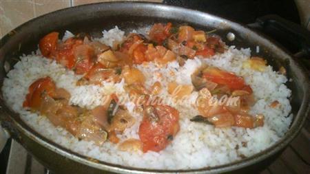 Step 4 Tomato Rice (Step By Step Photos) Recipe
