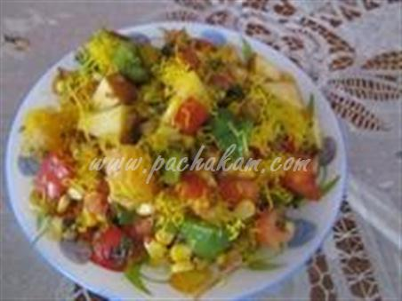 Step 7 Corn Bhel - Healthy Snack Recipe