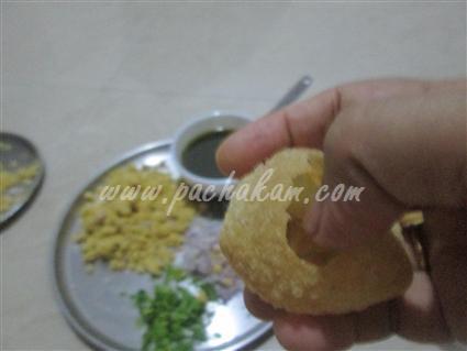 Step 12 Pani Poori Recipe