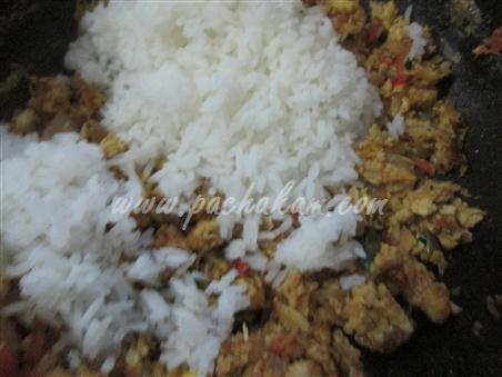 Step 8 Egg Rice Recipe