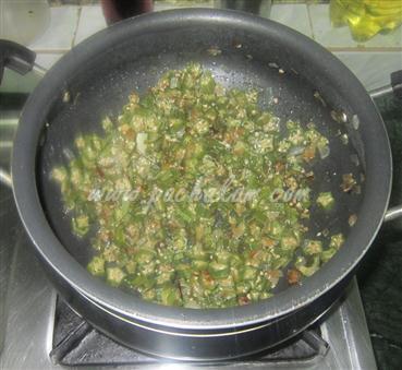 Step 3 Bhindi (Ladies Finger) Thoran (Step By Step Photos) Recipe
