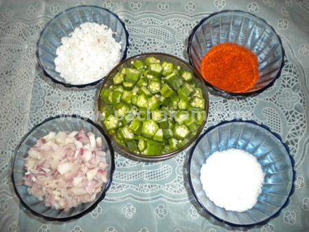Step 1 Vendakka(Ladies Finger) Thoran Recipe