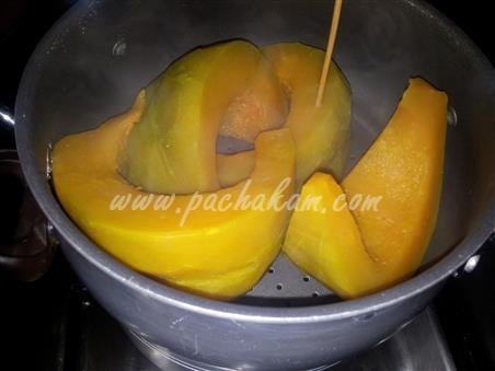 Step 1 Pumpkin Pudding Recipe