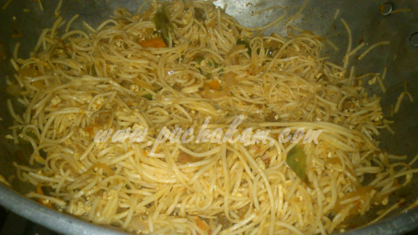 Step 13 Chicken Noodles (Step By Step Photos) Recipe