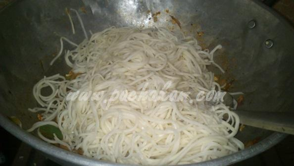 Step 12 Chicken Noodles (Step By Step Photos) Recipe