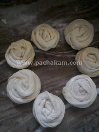 Step 7 Home Made Kerala Poratta Recipe
