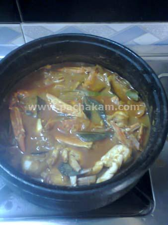 Step 6 Njendu (Crab) Mulakittath (Step By Step Photos) Recipe