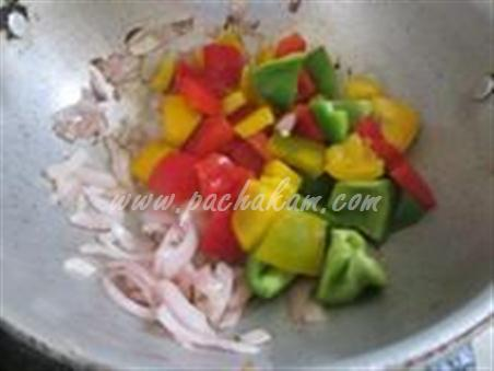Step 4 Corn Bhel - Healthy Snack Recipe