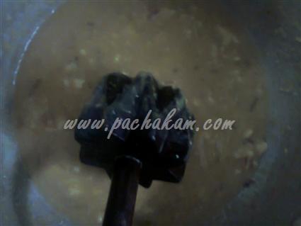 Step 2 Chakka Kuru Cheera Curry Recipe