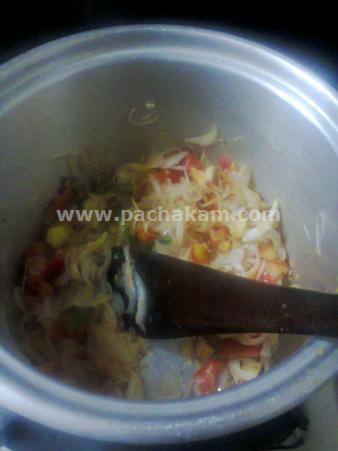 Step 6 Macaroni With Chicken Recipe