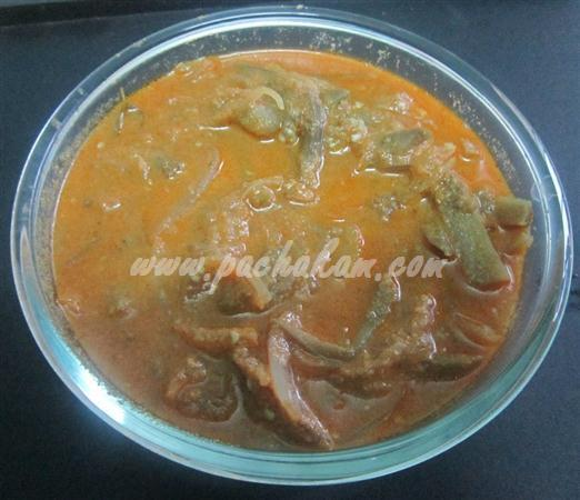 Step 6 Kerala Brinjal Theeyal (Step By Step Photos) Recipe
