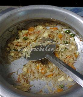 Step 5 Semiya Noodles Recipe