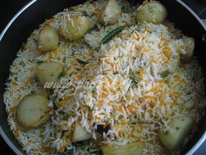 Step 17 Kachha Gosht Biriyani Recipe