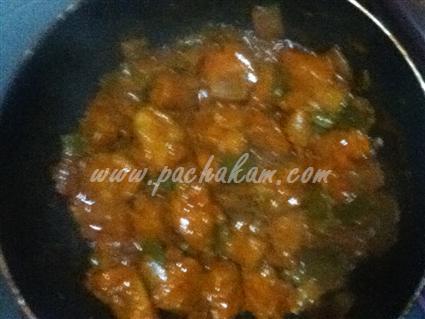 Step 8 Chilli Chicken Recipe