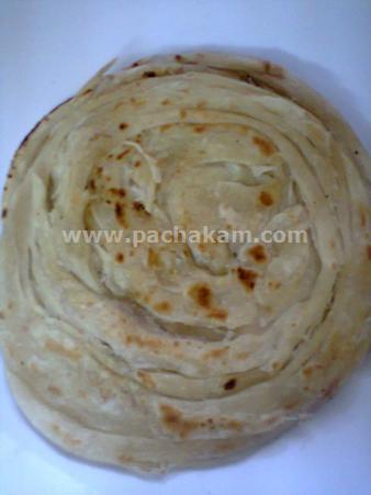 Step 10 Home Made Kerala Poratta Recipe