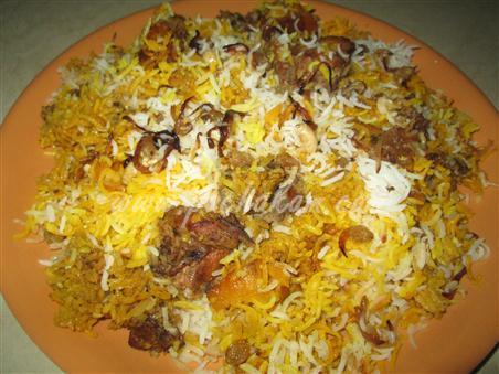 Step 10  Kerala Chicken Biriyani(Kozhi Biryani) Making Recipe