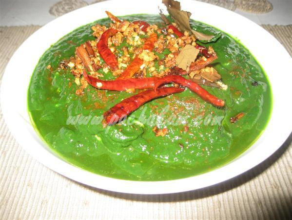 Step 11 Palak Paneer (Spinach-Cottage Cheese) (Step By Step Photos) Recipe