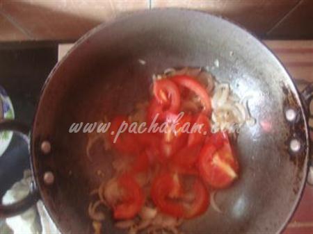 Step 4 Fried Bindi Masala (Step By Step Photos) Recipe