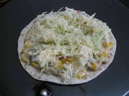 Step 7 Sweet Corn & Cheese Quesadillas (Step By Step Phot Recipe