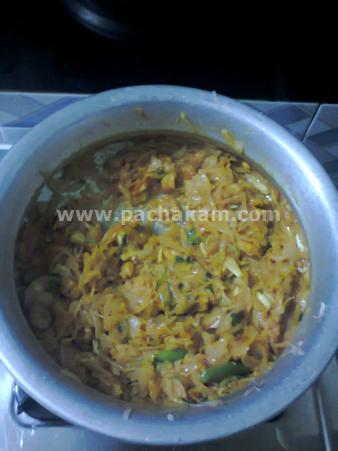 Step 4 Chemmeen Undapputtu Recipe